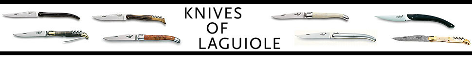 Knives of Laguiole Onlineshop für Taschenmesser, Bestecke, Sommeliers der Forge de Laguiole